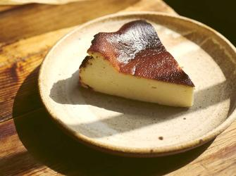 Honeyed Basque cheesecake recipe, from Crave by Ed Smith