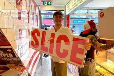 Test Driving Slice by Pizza Pilgrims - Finsbury Park gets a new pizza by the slice joint