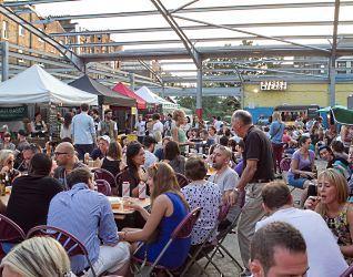 Street Feast night market gets permanent venue at Hackney Down Studios