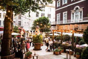 The Wigmore launches a huge summer terrace and garden with food by Michel Roux Jr
