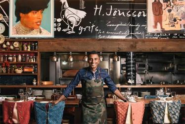Marcus Samuelsson's Red Rooster is opening in Shoreditch - and he's bringing tacos