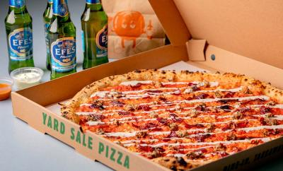 Yard Sale and Mangal II team up for a kebab/pizza mash-up