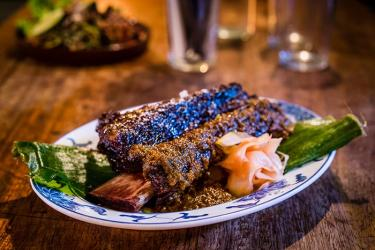 Ribs, belly, quail and more - summer dishes preview at the Smoking Goat