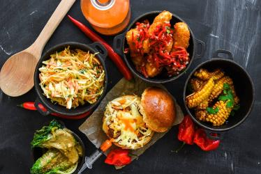 Cincinnati Chilibomb brings chili-filled brioche and chili oil-filled syringes to Shoreditch