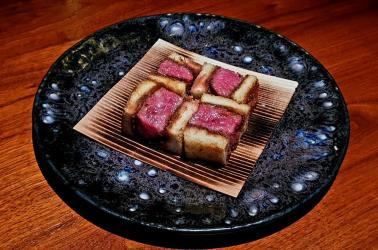 Taka Mk II comes to Marylebone, with new dishes - including a wagyu sando