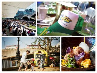 Where to watch, eat and drink the Rio Olympics in London this summer