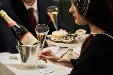 Piper-Heidsieck are throwing a prohibition party at Bentley's