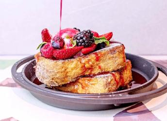Crome London is a new cafe that's all about French Toast