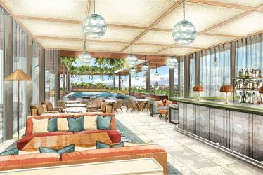 Soho House's new spot 180 House will have a rooftop pool on the Strand