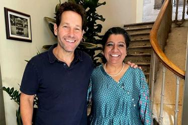 Paul Rudd is obsessed with the food at Darjeeling Express. It's official.