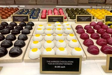 First look - Harrods opens its new Chocolate Hall, the final food hall to be revamped