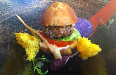 Sushisamba launches Kobe week with a special Kobe mini burger