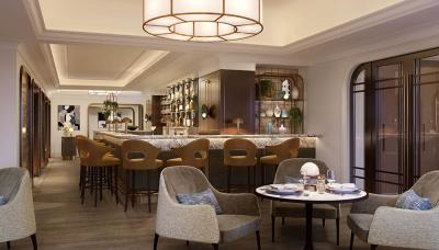 Al Mare is the signature restaurant at the revamped Carlton Tower Jumeirah in Knightsbridge
