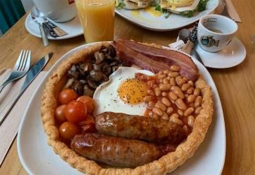 Epic Pies are serving up a Full English in a tart