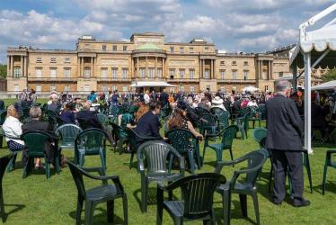 Picnic in the Queen's back garden with Alfresco At The Palace