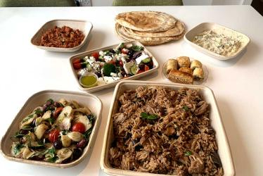 Arabica's new Mezze To Your Door service includes DIY falafel and more