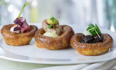 The Rib Room's pudding trio for Yorkshire Pudding Day