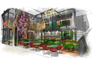Nest cocktail bar is opening at Liverpool Street with a must-book party room
