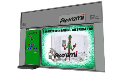 Peperami are building a walk-in fridge in London (with an ice bar inside)