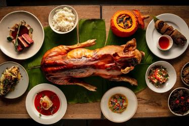 Sarap Filipino Bistro takes over 10 Heddon Street in Mayfair with whole suckling pig on the menu