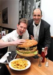 London restaurant invents The Beast - Britain's biggest burger