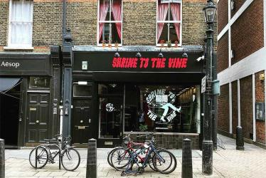 Shrine to the Vine is the new wine shop by Noble Rot's Dan Keeling and Mark Andrew