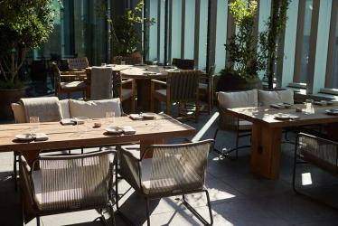 Allegra in Stratford has a massive terrace which is where you want to be this summer
