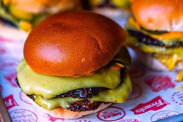 The best veggie and vegan burgers being delivered in London