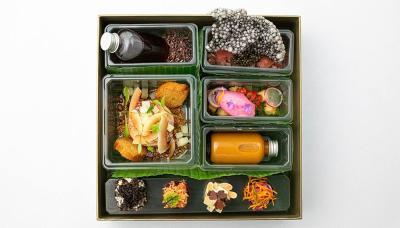 Victor Garvey's SOLA is delivering tasting menus via bento box