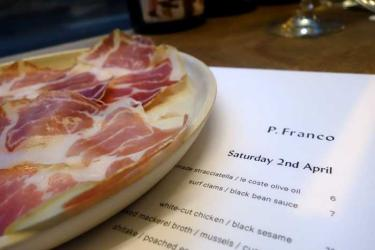 Test Driving P Franco - an inventive kitchen in a Clapton wine bar