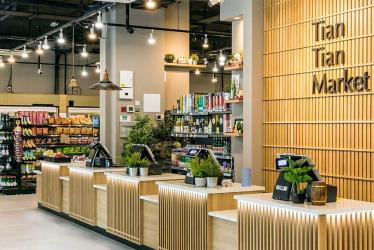 Tian Tian Market have opened a massive Asian supermarket in Aldgate