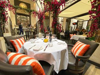 Test Driving The Garden - Corinthia London's alfresco restaurant