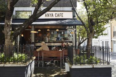 Anya Hindmarch launches Anya Café as part of her Pont Street 'village' in Knightsbridge