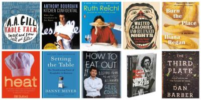 10 great books to read about restaurants