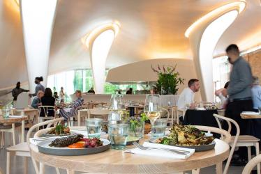 The Magazine at The Serpentine Gallery reopens with a new chef and climavore menu