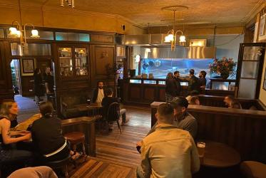 Four Legs turn Finsbury Park's Auld Triangle into The Plimsoll