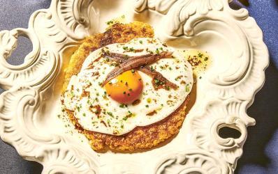 London restaurant recipes: Chick 'n' Sours' Carl Clarke's Doritos-coated schnitzel
