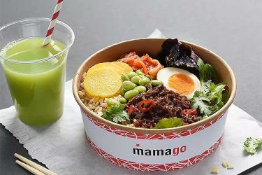 Mamago is Wagamama's new grab and go spot at Fenchurch Street