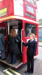 All aboard – Hot Dinners takes the Pall Mall Gourmet Odyssey bus