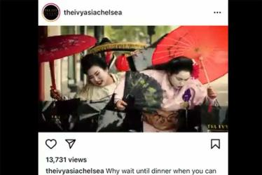 Ivy Asia Chelsea apologises for