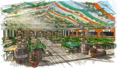 There's an alfresco Oktoberfest beer hall taking over Paddington's Pergola this autumn
