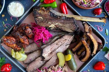 The Bourbon serves up hard liquor and BBQ in Bow