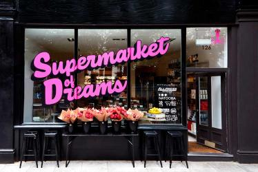 The Supermarket of Dreams brings restaurant DIY kits and more to Notting Hill
