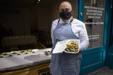 Imad's Syrian Kitchen pops up in Carnaby with a falafel bar