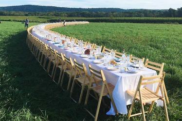 Top US supperclub Outstanding in the Field comes to London for the first time