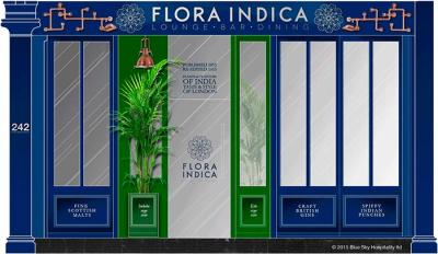 Botanical Indian restaurant Flora Indica comes to Old Brompton Road