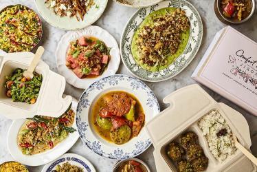 Jikoni's Ravinder Bhogal is launching Comfort & Joy vegetarian home delivery