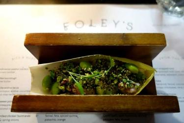 Test Driving Foleys - a Fitzrovian restaurant inspired by world food