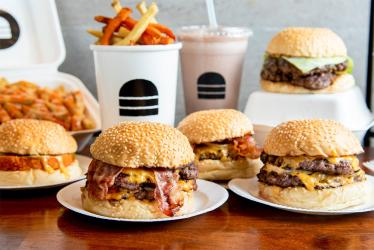 The best burger deliveries in London right now