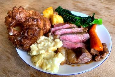 Test Driving the Harwood Arms Sunday lunch at home